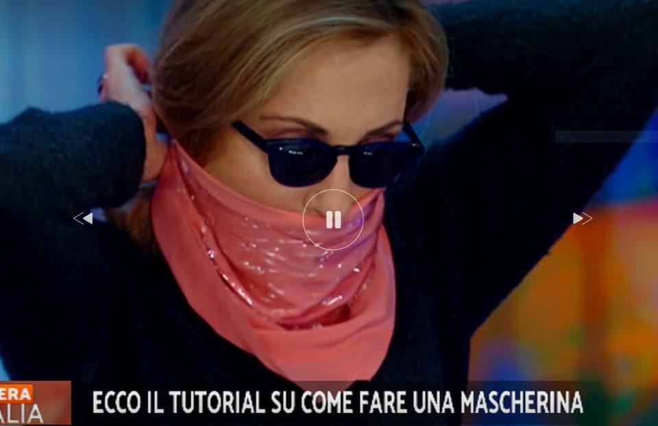 foulard contro il coronavirus